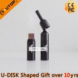 Lecteur flash USB exceptionnel de bouteille de vin rouge de cadeaux (YT-1216-02)