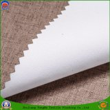 Tela impermeable polivinílica tejida casera de la cortina de ventana del apagón de la capa del franco de la tela de materia textil para la cortina confeccionada
