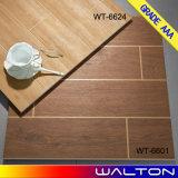 azulejos de suelo de cerámica esmaltados azulejo de madera del azulejo de la porcelana 600X600 (WT-6624)