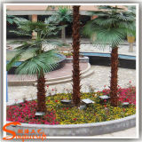 Planta decorativa da palmeira 2015 de prata artificial a mais atrasada