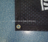 Drapeaux polychromes brillants de tissu de polyester (SS-SF-84)