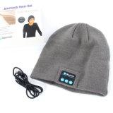 Casquillo elegante de la gorrita tejida del sombrero sin hilos caliente de Bluetooth con el altavoz del receptor de cabeza del auricular