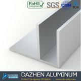 Profil en aluminium de vente d'usine de fabrication pour le produit de porte de guichet du Ghana