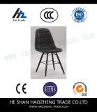 Hzpc151 o pé recreacional plástico da cadeira da ferragem nova - preto