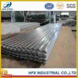 亜鉛によって塗られる電流を通された波形鉄板の屋根瓦