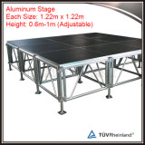 調節可能な高さのアルミニウム携帯用段階