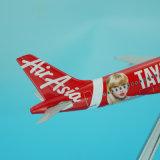 Aereo rapido del modello del metallo A320 di Airasia Taylor