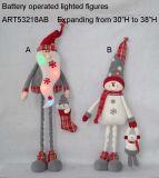 """22 """" h СИД Санта и свет LED-3asst украшения рождества снеговика"""