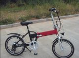"""Bicicleta eléctrica plegable del estilo de la serie 20 """" del marco rojo de la Al-Aleación 36V con el Ce (JSL039B-8)"""