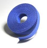 Urdidura de Velcro do gancho 100% do poliéster e da cinta plástica do laço