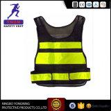 Roupa de trabalho preta da veste da segurança para a polícia En20471