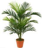 Planta artificial da palmeira da areca do poliéster