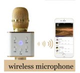 Micrófono sin hilos de Bluetooth Q7 del altavoz del guía turístico