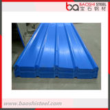Telhadura ondulada Lowes do metal da cor concreta de China