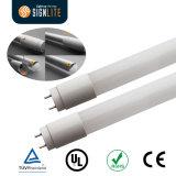 La mejor luz fluorescente del tubo del reemplazo 110lm/W 18W los 4FT T8 LED de la UL Dlc ETL