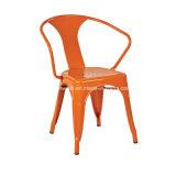 다방 선술집 대중음식점 (JY-R33)를 위한 포도 수확 판금 팔 의자