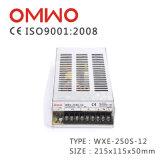 Wxe-250s-12 LED Qualitäts-Schalter-Stromversorgung