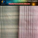 ポリエステルヤーンの染められたファブリック、小切手様式のジャケットファブリック、メモリファブリック