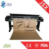 De alta velocidad y establo que trabajan el trazador de gráficos profesional inferior del corte de la inyección de tinta de la ropa de la consumición material