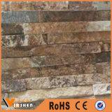 Mattonelle di pietra della parete della facciata dell'ardesia coltivate decorazione naturale della parete di pietra