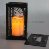 2017 New Modern Type Aumente Design Romântico LED Candle Lantern Light