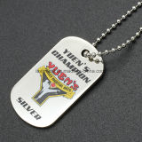 Hot Selling Factory Customized Printed Logo Metal Gift Dog Tag