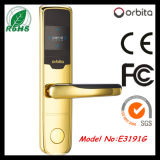 Fechamento de porta do smart card da segurança do hotel da estrela de Orbita
