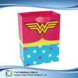 Sac de transporteur de empaquetage estampé de papier pour les vêtements de cadeau d'achats (XC-bgg-048)