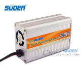 Inversor da potência do carro de Suoer 200W 12V com relação do USB (SDA-200A)