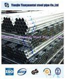BS 1387 galvanizadas pre em volta da tubulação de aço