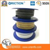 Упаковка графита PTFE углерода высокого качества пропитанная волокном