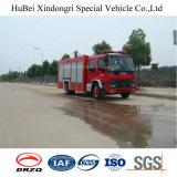 8ton Isuzu 물과 거품 탱크 유형 화재 싸움 엔진 트럭 유로 4