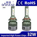 Tudo em um farol relativo à promoção do diodo emissor de luz de V8 do poder superior do projeto