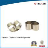 Clip et bride de support d'acier inoxydable utilisés pour des échantillons de support