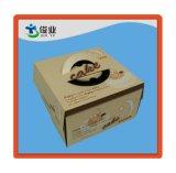 Caisse d'emballage de papier décorative de chaussure de vente en gros de cadre de chaussures de modèle de mode