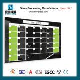 Glass Memo Board, Glass Notice Board, Glass Planning Board avec ANSI et En12150 Certificate