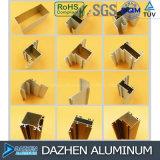 Le fini de moulin/a anodisé le profil en aluminium pour le modèle personnalisé par porte de guichet