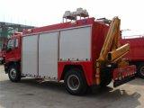 10cbm 4 * 2 del aerosol de agua del coche de bomberos 4X2 Bosque del coche de bomberos
