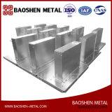 제작 금속 상자 또는 쉘 기계 부속품을 형성하는 판금은 공장에서 지시한다