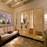 Disegno di vetro esterno del portello di Foliding per la vostra nuova casa