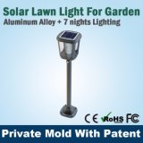 China Rechargeable LED Integrated Lawn Solar Light Fabricant