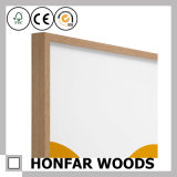 Bâti gris rustique de photo d'illustration en bois solide pour la décoration de bureau