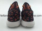 Les chaussures occasionnelles de vente chaudes d'enfants chaussent les chaussures de toile d'injection (FFHH-092801)