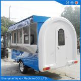 Carro móvel do alimento do reboque do alimento da alta qualidade de Ys-Bf200j para a venda