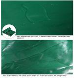 O PVC Anti-UV laminou o encerado impermeável para a tampa do caminhão