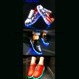 LED 빛을%s 가진 스케이트보드 여가 단화를 달려 형식 여자