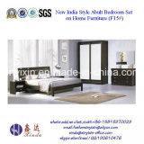 Деревянная мебель спальни гостиницы Дубай Kingsize кровати (SH-004#)