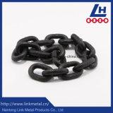 /Pintado/plástico negro G80 encadenamiento de elevación cubierto polvo oxidado