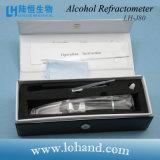 Traditionele Hand - de gehouden Meter van de Maatregel van de Alcohol voor de Test van de Wijn van het Huis (links-J80)