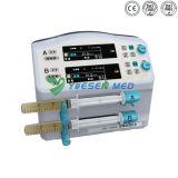 3 bomba automática Stackable automática médica de trabalho da seringa da infusão das modalidades Yszs-1800y LCD
